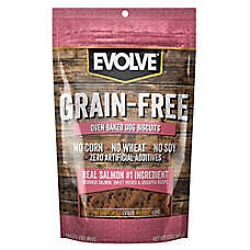 Evolve® Grain Free Dog Treat - Salmon, Sweet Potato & Chickpea