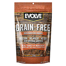 Evolve® Grain Free Dog Treat - Turkey, Sweet Potato & Cranberry