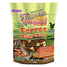 Brown's® Tropical Carnival® Natural Ferret Food