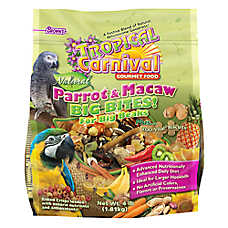 Brown's® Tropical Carnival® Natural Parrot & Macaw Bird Food