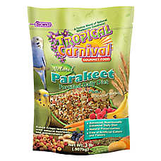 Brown's® Tropical Carnival® Natural Parakeet Food