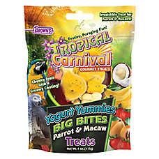 Brown's® Tropical Carnival® Yogurt Yummies Big Bites Parrot & Macaw Treats