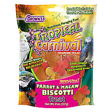 Brown's® Tropical Carnival® Biscotti Parrot & Macaw Treats