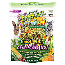 Brown's® Tropical Carnival® Timothy Hay Craveables