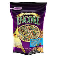 Brown's® Encore® Premium Cockatiel Food