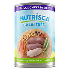 DOGSWELL® Nutrisca Dog Food - Grain Free, Duck & Chickpea Stew, 12ct Case