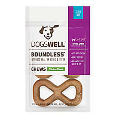 DOGSWELL® Boundless Chews Small Dog Treat - Grain Free, Chicken