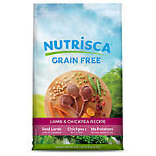 DOGSWELL® Nutrisca Dog Food - Grain Free, Lamb & Chickpea