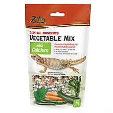 Zilla® Reptile Vegetable with Calcium Munchies
