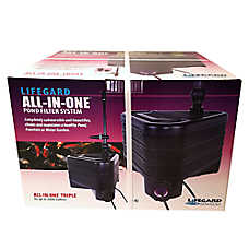 Lifegard® Aquatics All-In-One Triple Pond Filter System