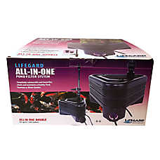 Lifegard® Aquatics All-In-One Double Pond Filter System
