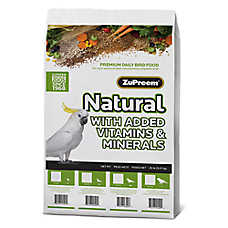 ZuPreem® Natural Small Bird Food