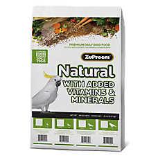 ZuPreem® Natural Parrots & Conures Bird Food
