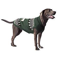 Beaver Canoe Knit Pullover Dog Sweater