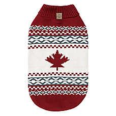 Beaver Canoe Knit Dog Sweater