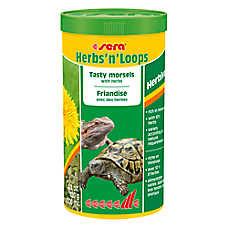 Sera® Herbs 'n' Loops Reptile Food