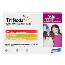 Trifexis for Dogs - 6 Pack