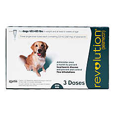 Revolution for Dogs 40.1-85 lbs