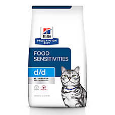 Hill's® Prescription Diet® d/d Skin/Food Sensitivities Cat Food - Grain Free, Venison & Green Pea