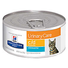 Hill's® Prescription Diet® c/d Multicare Urinary Care Cat Food - Ocean Fish