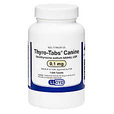 Levothyroxine Tablet (Generic to Thyro-Tabs)