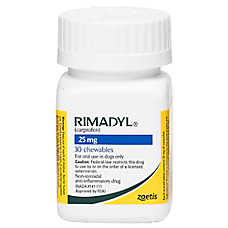 Rimadyl Pain and Arthritis Chewable Tablet