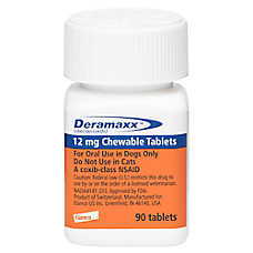 Deramaxx Chewable Tablet for Dogs