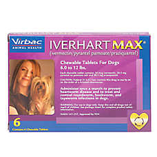 Iverhart Max Chewable Tablets for Dogs - 6 Pack