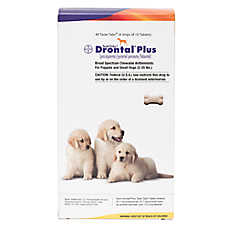 Drontal Plus for Dogs Chewable Tablet