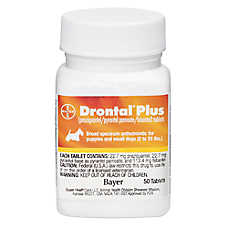 Drontal Plus for Dogs Tablet