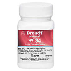 Droncit Dewormer Tablet for Dogs