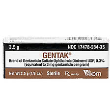 Gentamicin Opthalmic Ointment