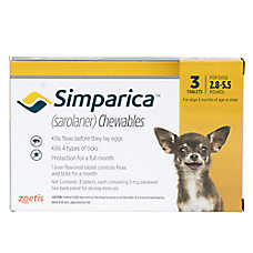 Simparica for Dogs - 3 Pack