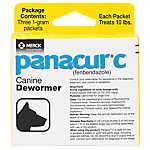 Panacur C Canine Dewormer Granules - 3 Pack