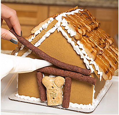 Gingerbread Dog House Assembly