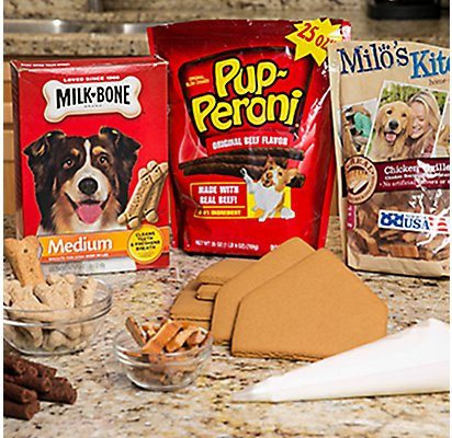 Gingerbread Dog House Supplies
