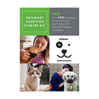 PetSmart Adoption Starter Kit