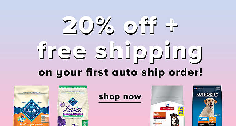 Save 20% on your first Auto Ship order