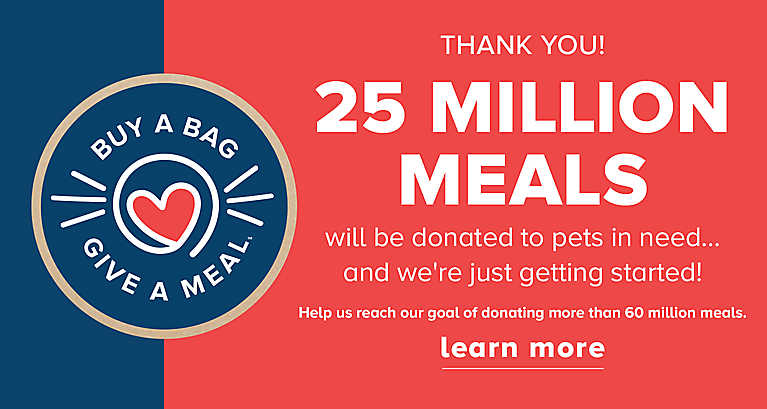 Buy A Bag Give A Meal, 25 Million meals given
