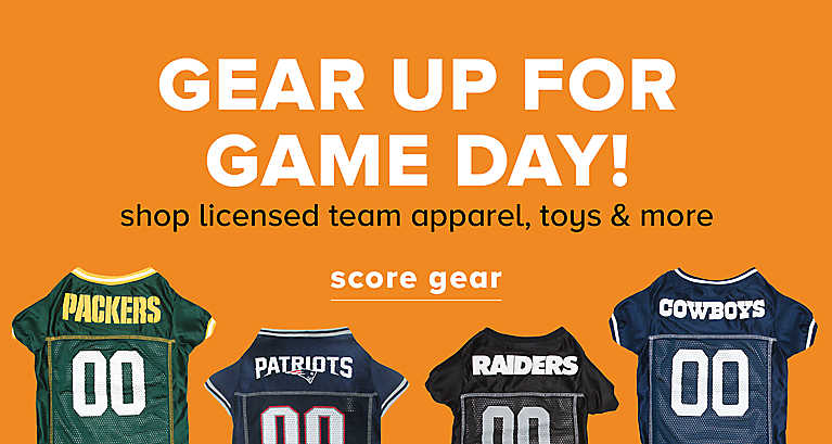 gear up for game day! shop licensed team apparel, toys & more
