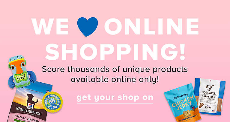 Online Only products!