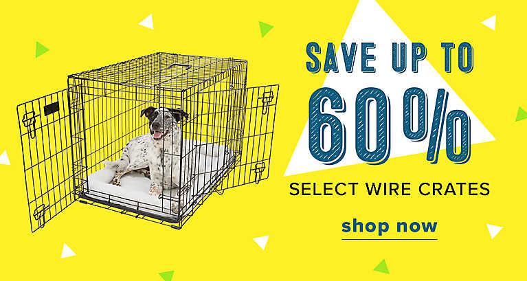 Save up to 60% on select Wire Crates