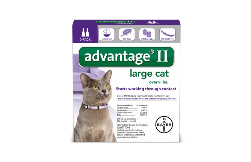 Advantage® II is a topical that prevents and treats fleas