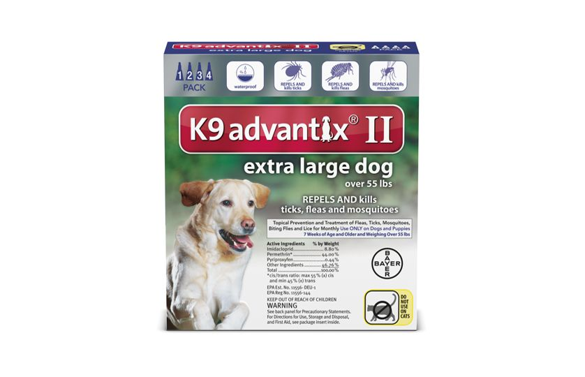 K9 Advantix® II is a monthly topical that kills fleas