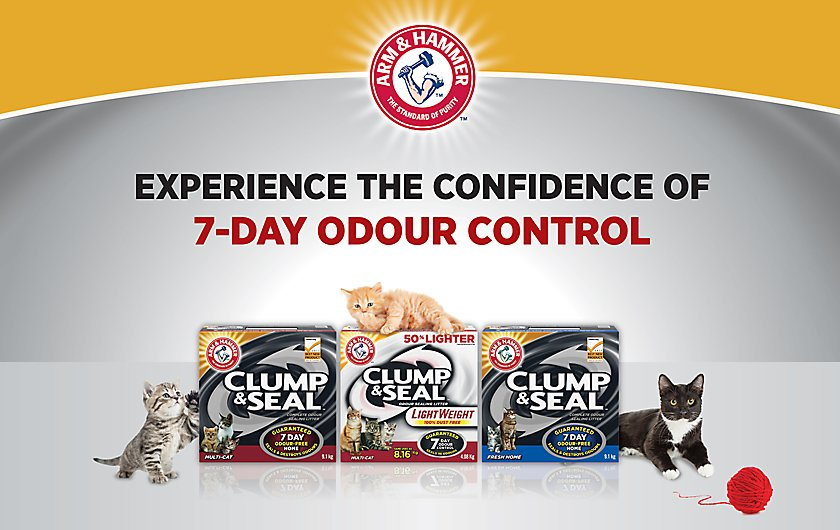 ARM & HAMMER™ Clump & Seal™