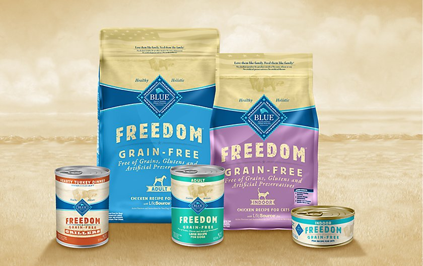 Blue Freedom Grain Free Dog Food Petsmart