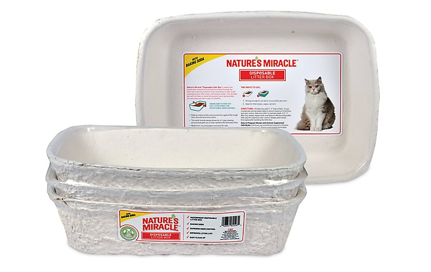 disposable litter box