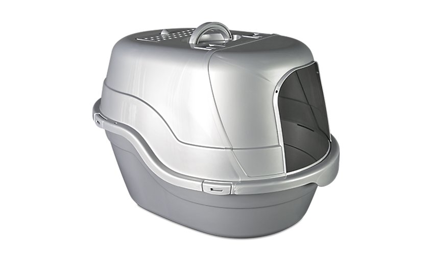 oval hooded litter box