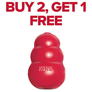 BUY 2, GET 1 FREE entire stock dog toys