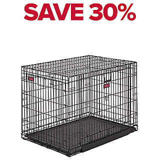 SAVE 30% entire stock KONG® double door wire crates
